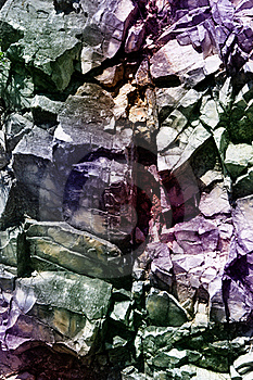 Painted Rocks Royalty Free Stock Photography - Image: 19697437