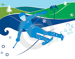 Skier Royalty Free Stock Photography - Image: 19699437