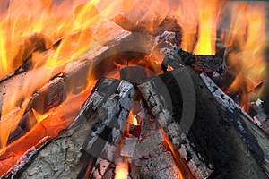 Outdoor Fire Royalty Free Stock Photography - Image: 1973127