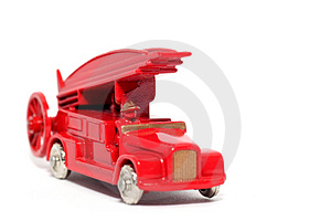 Old Toy Car Denis Fire Engine #2 Royalty Free Stock Images - Image: 1973439