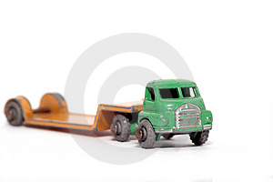 Old Toy Car Bedford Low Loader #2 Royalty Free Stock Photography - Image: 1973527