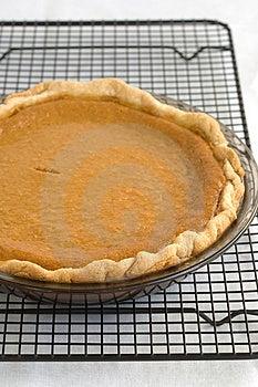 Pumpkin pie Free Stock Photography