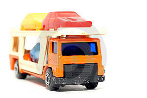Old Toy Car Car Transporter Royalty Free Stock Photo - Image: 1973915