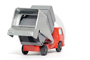 Old Toy Car Refuse Car Stock Photos - Image: 1973993
