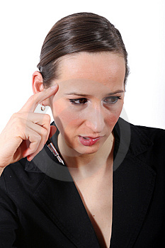 Sad Business Woman Royalty Free Stock Photo - Image: 1975175