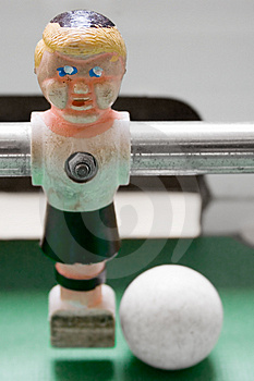 Tabletop Football - Striker Stock Photo - Image: 1975720