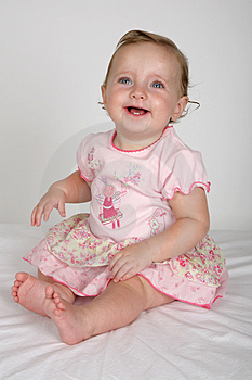Baby Lady Royalty Free Stock Photo