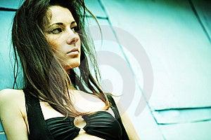 Dramatic Female Portrait. Stock Images - Image: 19700264