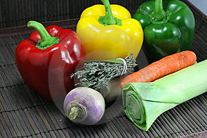 Preparation Of Vegetables Royalty Free Stock Images - Image: 19703099