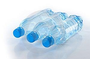 Bottles Of Fresh Water Stock Photography - Image: 19703612