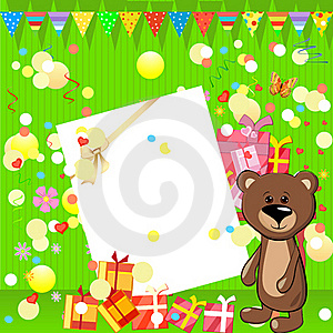 Fun Birthday Party Royalty Free Stock Image - Image: 19704176
