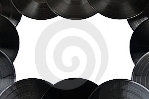 Vinyl Record Frame Royalty Free Stock Photography - Image: 19705077