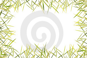 Bamboo Leave Frame Royalty Free Stock Images - Image: 19705519