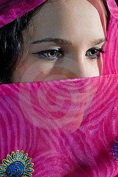 Face Hiding Stock Photo - Image: 19706520