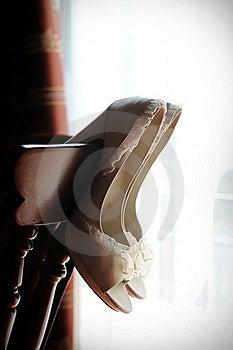Bridal Shoes Stock Photo - Image: 19711200