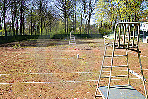 Tennis Court In Hamburg Stock Images - Image: 19711514