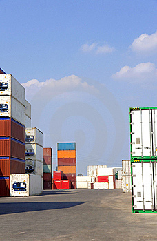 Containers Royalty Free Stock Photos - Image: 19717018
