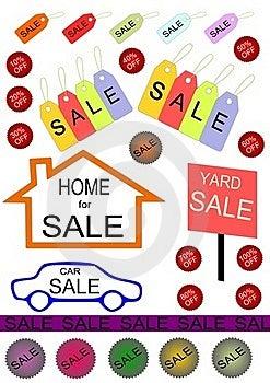 Sale Royalty Free Stock Photo - Image: 19717985