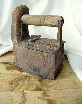 The Old Iron Royalty Free Stock Photography - Image: 19720097