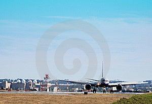 να προετοιμαστεί αεροπ&la Στοκ Φωτογραφία - εικόνα: 19721772