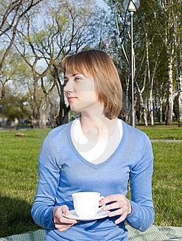 Pausa Del Tè Fotografia Stock - Immagine: 19722332