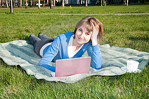 Working In The Park Stock Photography - Image: 19722372