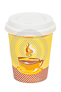 Capuccino To Go Royalty Free Stock Photos - Image: 19722848