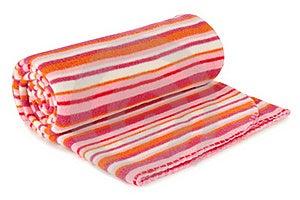 Blanket. Isolated Stock Image - Image: 19723331