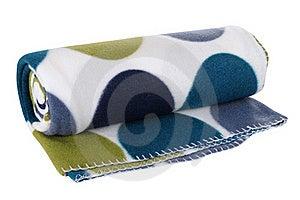Blanket. Isolated Stock Image - Image: 19723341