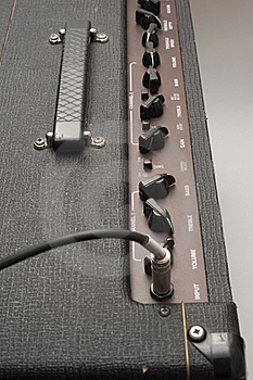 Guitar Amp Controls Royalty Free Stock Photos - Image: 19723358