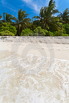 Coast Of Tropical Island Stock Photos - Image: 19724493
