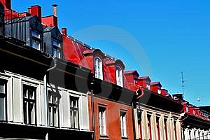 Flat Roofs Royalty Free Stock Image - Image: 19726506