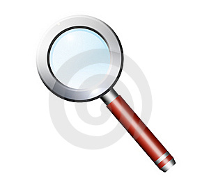 Magnifying Glass Royalty Free Stock Photos - Image: 19727098