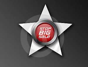 Stop Big Sale Icon Royalty Free Stock Images - Image: 19727099
