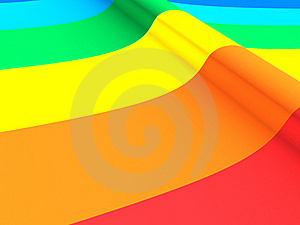 Close Up Of A Rainbow Royalty Free Stock Image - Image: 19727636