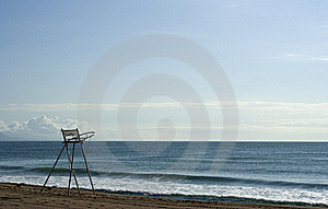 Lifeguard's Chair, Raw Stock Photo - Image: 19728740