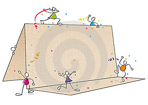Funny Party Invitation Stock Images - Image: 19730424