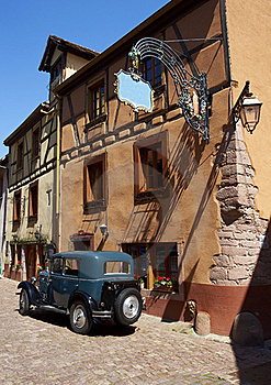 Old Village In France Royalty Free Stock Photography - Image: 19731437