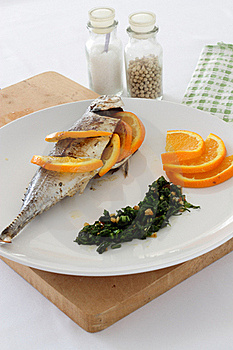 Mackerel In Salsa Verde Royalty Free Stock Images - Image: 19732039