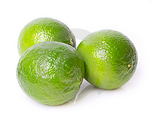 Three Limes Stock Photography - Image: 19732232