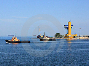 Tugboat At Speed Stock Photography - Image: 19734292