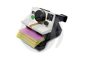 Retro Polaroid Cam Stock Image - Image: 19734321