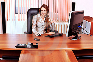 Businesswoman Stock Images - Image: 19736424
