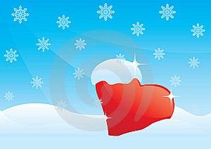 Frozen Heart Royalty Free Stock Photos - Image: 19737648