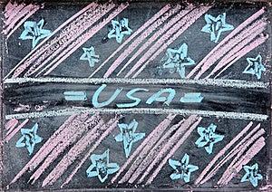 Illustrazione Della Festa Dell'indipendenza S.U.A. Fotografia Stock Libera da Diritti - Immagine: 19738715