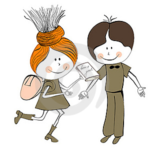 Girl And Boy Stock Images - Image: 19739324