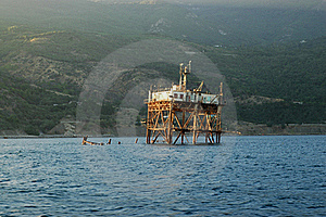 Marine Research Station Royalty Free Stock Images - Image: 19748629