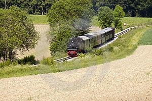 Passenger Train Stock Photography - Image: 19749172