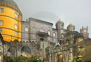 Royal Pena Palace Stock Image - Image: 19750131