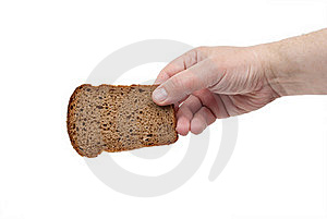 Sliced Bread Win Hand Stock Photography - Image: 19751222
